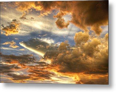 Heavenly Skies  Metal Print by Saija  Lehtonen