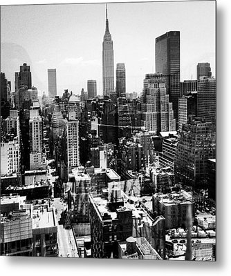 Hell's Kitchen Metal Print by CD Kirven