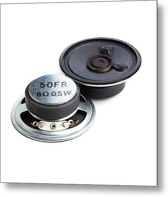 Hifi Speaker Metal Print by Science Photo Library