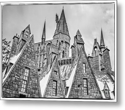 Postcard From Hogsmeade Metal Print by Edward Fielding