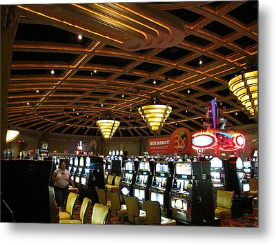 Hollywood Casino At Charles Town Races - 12127 Metal Print by DC Photographer