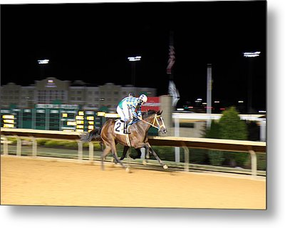Hollywood Casino At Charles Town Races - 12128 Metal Print by DC Photographer