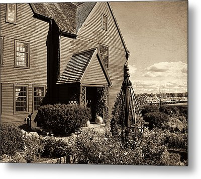 House Of The Seven Gables Metal Print by Lourry Legarde