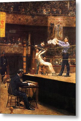 In The Mid Time Metal Print by Thomas Eakins