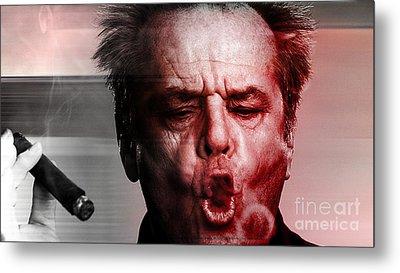 Jack Nicholson Metal Print by Marvin Blaine