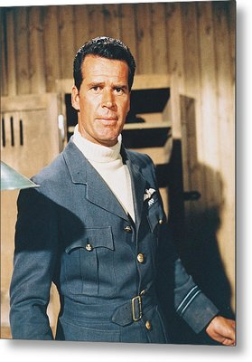 James Garner In The Great Escape Metal Print by Silver Screen