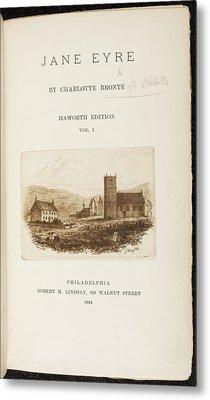 Jane Eyre Metal Print by British Library