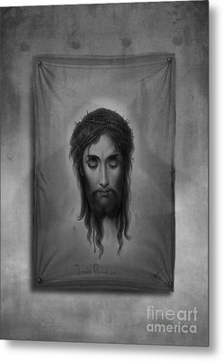 Jesus Christus Metal Print by Edward Fielding