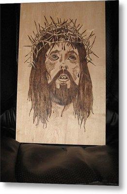 Jesus' Crucifixion Metal Print by N Gardner