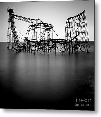 Jet Star Metal Print by Ray Cavicchio
