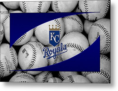 Kansas City Royals Metal Print by Joe Hamilton