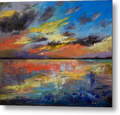 Key West Florida Sunset Metal Print by Michael Creese