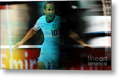 Landon Donovan Metal Print by Marvin Blaine