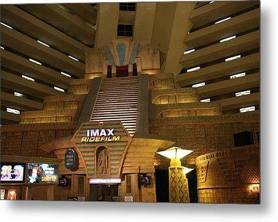 Las Vegas - Luxor Casino - 12126 Metal Print by DC Photographer