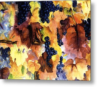 Late Harvest 3 Metal Print by Maria Hunt