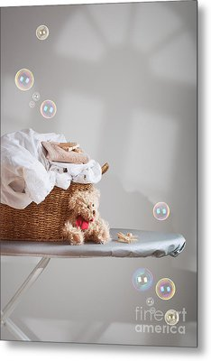 Laundry Metal Print by Amanda And Christopher Elwell