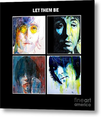 Let Them Be Metal Print by Paul Lovering