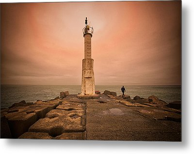 Lighthouse Metal Print by Okan YILMAZ