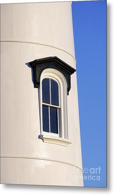 Lighthouse Window Metal Print by John Greim