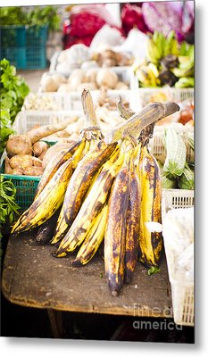 Local Asian Market Metal Print by Tuimages