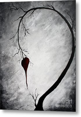 Lonely Heart Metal Print by Mike Grubb