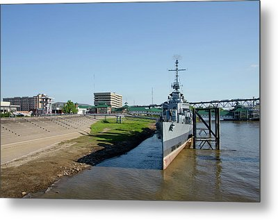 Louisiana, Baton Rouge Metal Print by Cindy Miller Hopkins
