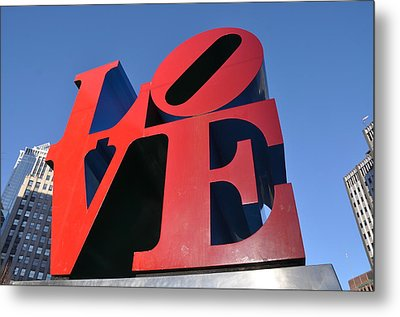 Love Metal Print by Bill Cannon