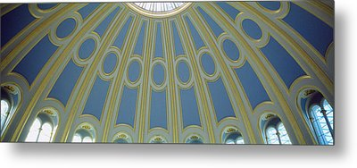 Low Angle View Of The Ceiling Metal Print by Panoramic Images