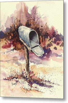 Mailbox Metal Print by Sam Sidders