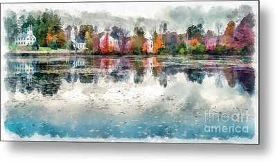Marlow New Hampshire Metal Print by Edward Fielding