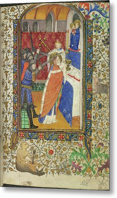 Martyrdom Of Thomas Becket Metal Print by British Library