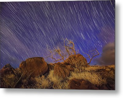 Maui Star Trails Metal Print by Hawaii  Fine Art Photography