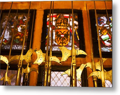 Medieval Armory, Chateau Du Metal Print by Panoramic Images