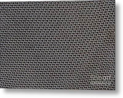 Metal Meshwork Metal Print by Dirk Wiersma