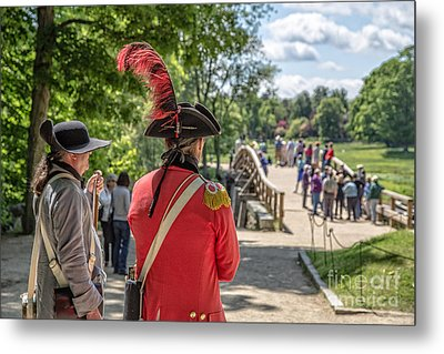 Minute Man National Historical Park Metal Print by Edward Fielding