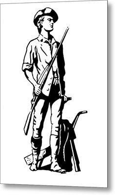 Minuteman Metal Print by Granger