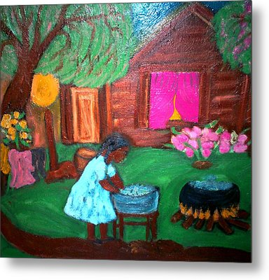 Monday Morning Metal Print by Mildred Chatman