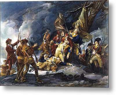 Montgomerys Death, 1775 Metal Print by Granger