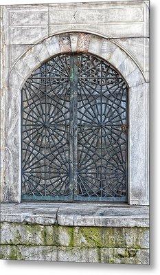 Mosque Window Metal Print by Antony McAulay