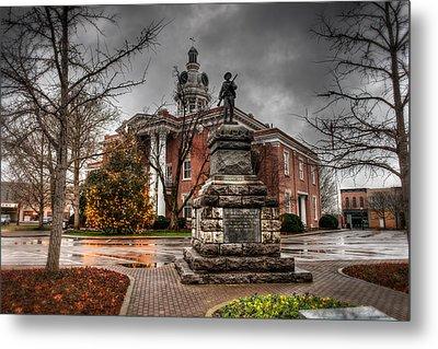 Murfreesboro Town Hall Metal Print by Brett Engle