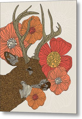 My Dear Deer Metal Print by Valentina Ramos