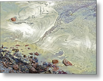 Natures Art Metal Print by Susan Leggett