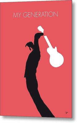 No002 My The Who Minimal Music Poster Metal Print by Chungkong Art
