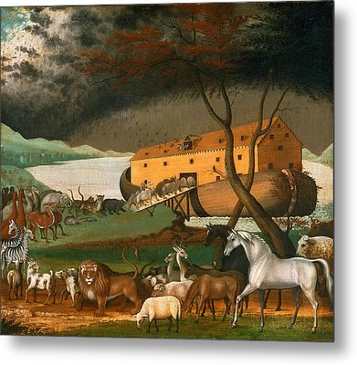 Noahs Ark Metal Print by Edward Hicks