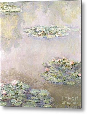 Nympheas Metal Print by Claude Monet