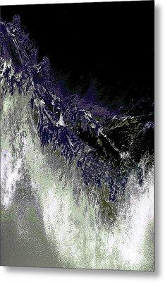 Ocean Series 35 Metal Print by Franco Timitilli