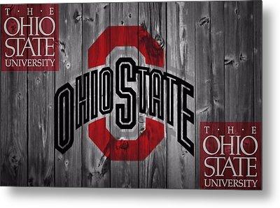 Ohio State Buckeyes Metal Print by Dan Sproul