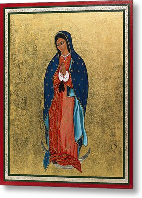 Our Lady Of Guadalupe I Metal Print by Ilse Wefers