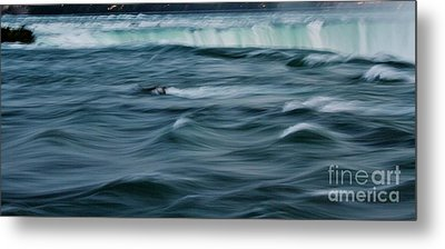 Over The Edge Metal Print by Butch Phillips