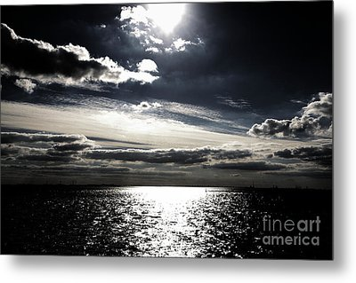 Peaceful Evening Metal Print by Four Hands Art